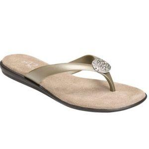 A2 by Aerosoles Womens Too Chlose Thong Sandal